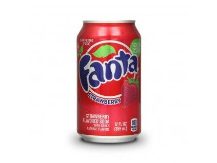 Fanta Strawberry (jahoda) USA 355ml