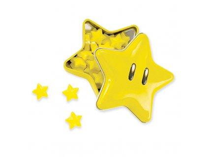 nintendo super mario bros super star tinned candies