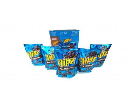 Flipz Milk Chocolate karton 6x 90g