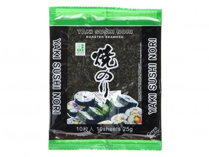 yaki sushi nori green prazene morske rasy 25 g 01