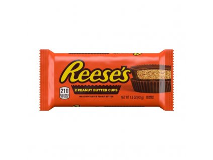 Reeses 2 peanut butter cups 42g 01