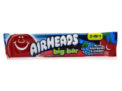 Airheads Big Bar Blue Raspberry & Cherry 42,5g - AKCE