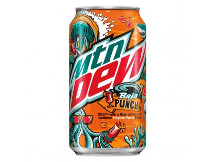 Mountain Dew Baja Punch USA 355ml 2