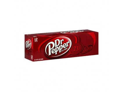 Dr. Pepper Classic USA karton 12x 355ml - AKCE