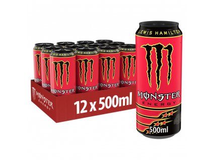 Monster Energy Lewis Hamilton 12x 500ml