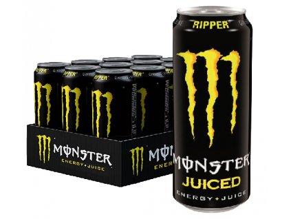 Monster Ripper Energy + Juice 12x 500ml b