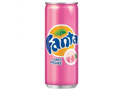 Fanta Lychee 320ml - AKCE