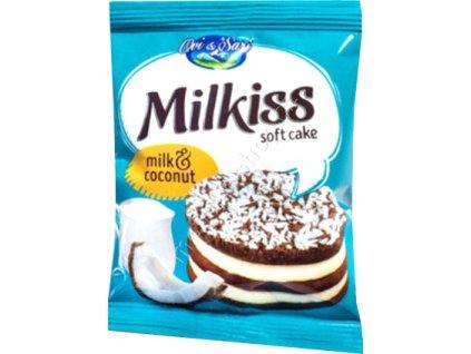 Milkiss Soft Cake Milk & Coconut 50g - AKCE