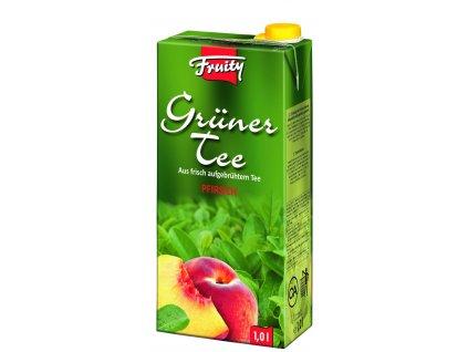 Fruity Grüner Tee Pfirsich 1l 01