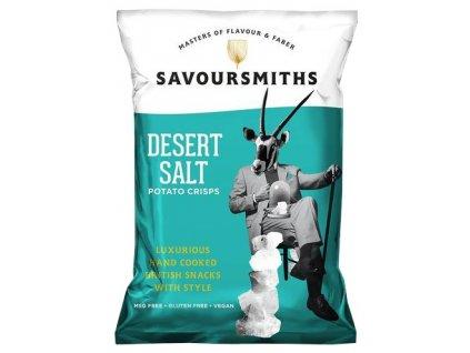 Savoursmiths Desert Salt bramborové lupínky 150g - AKCE