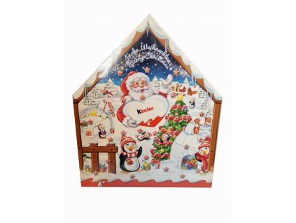 Kinder mix domeček adventní kalendář 184g 01 naminy