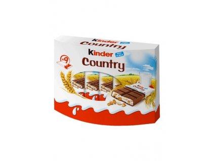 kinder country 9ks