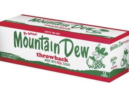 Mountain Dew Throwback USA karton 12x 355ml