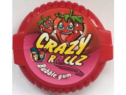Crazy Rollz Bubble Gum Strawberry 16g