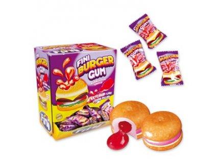 Fini - žvýkačky Burger karton 200x 5g
