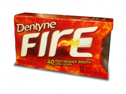 Dentyne Fire Spicy Cinnamon 18g