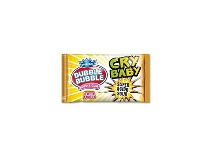 Dubble Bubble Cry Baby - superkyselá žvýkačka 4,75g