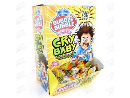 Dubble Bubble Cry Baby - superkyselé žvýkačky karton 200x 4,75g