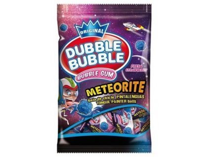 Dubble Bubble Meteorite - jahodové sáček 90g