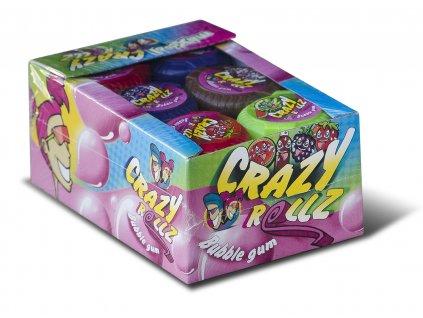 Crazy Rollz bubble gums 24 x 16g BOX