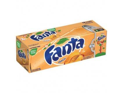 Fanta Peach USA karton 12x 355ml