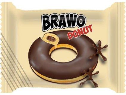 Brawo Donut polomáčený s kakaovou náplní 50g