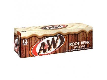A&W Root Beer karton 12x 355ml