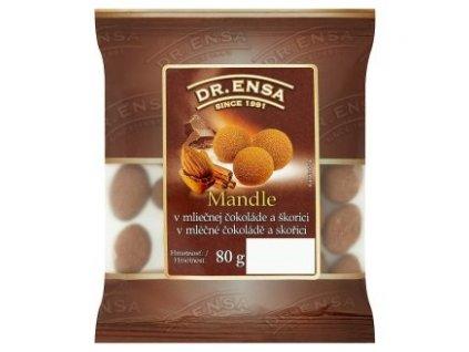 Dr.Ensa mandle v mléčné čokoládě 80g