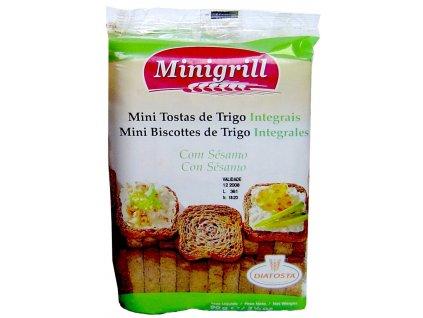 Minigrill - celozrnné suchary 90g