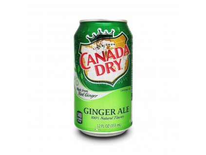 Canada Dry ginger ale USA 355ml - AKCE