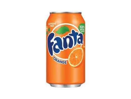 Fanta orange USA 355ml - AKCE