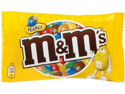 M&M arašídové 45g - AKCE