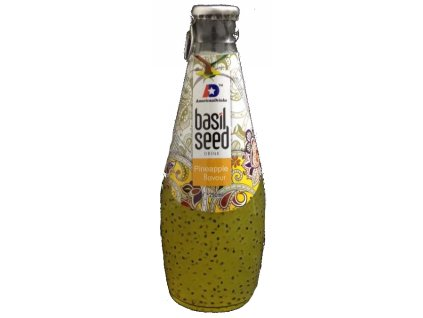 Basil Seed Drink Pineapple Flavour 290ml
