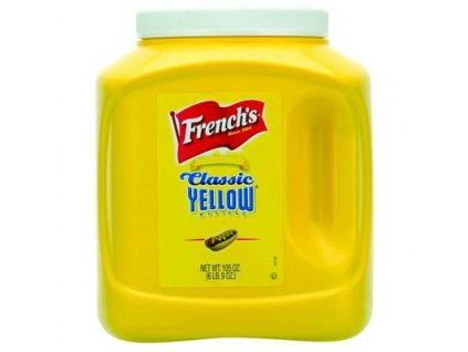 French's Classic Yellow Mustard Catering size 2,97kg - AKCE