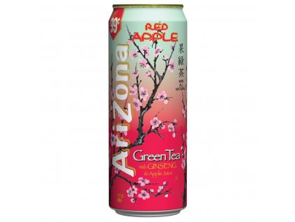 Arizona Green Tea Red Apple 680ml