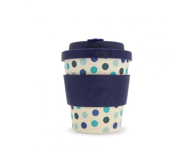 Ecoffee 240 Blue polka