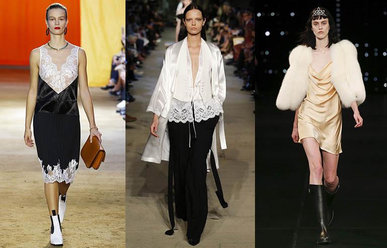Trendy jaro léto 2016 - spodní prádlo jako svršek