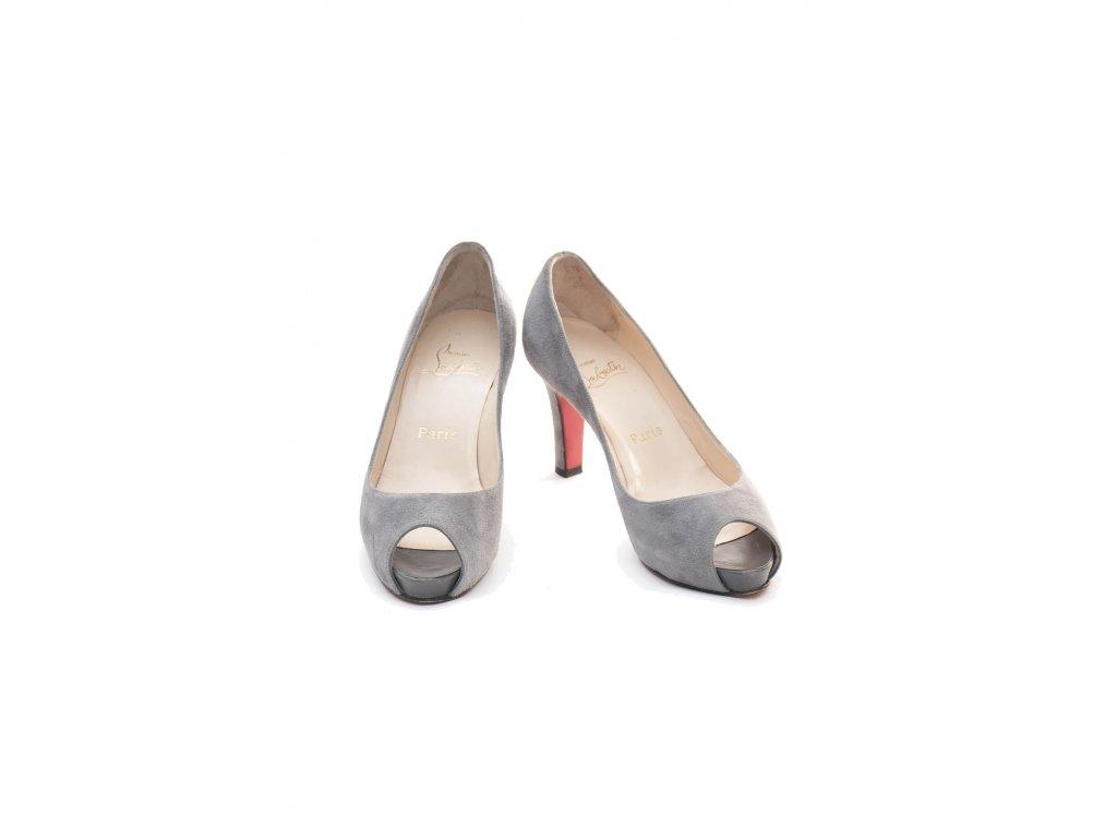 christian lauboutin sede semisove boty 1