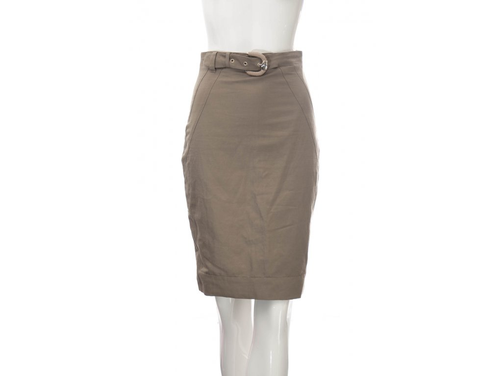 versace zenska bezovo hneda sukne 1