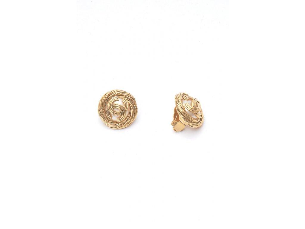 nausnice chanel s perlou 1
