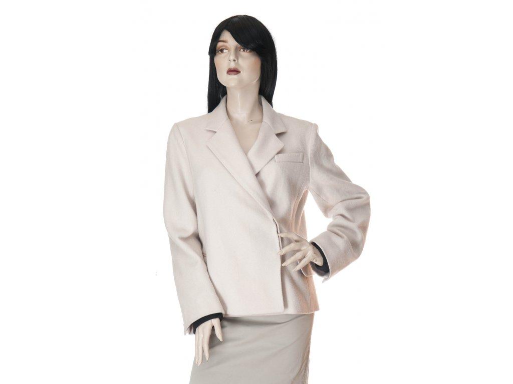 marc jacobs luxusni vlneny kabatek s panskem stylu 1