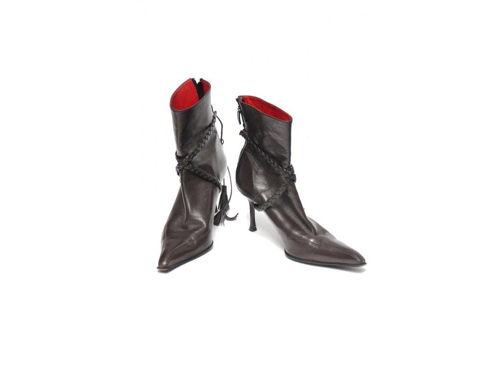 Luxusní hnědé boty Cesare Paciotti2