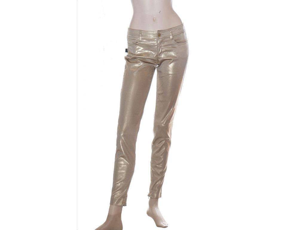 dolce gabbana zlate uzke kalhoty 1