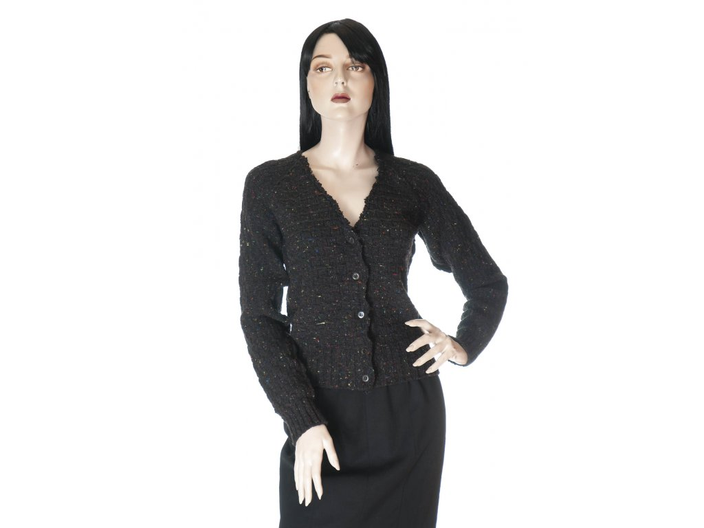 prada luxusní svetr kardigan vlna kasmir 1