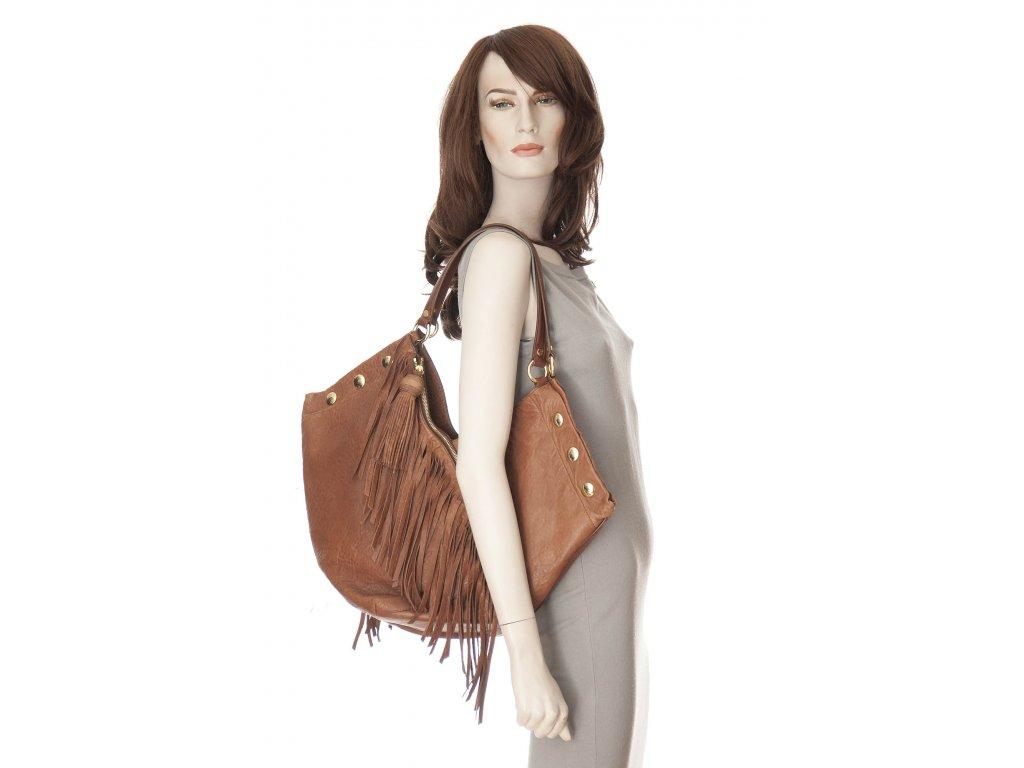 moschino luxusni kozena velka kabelka 1
