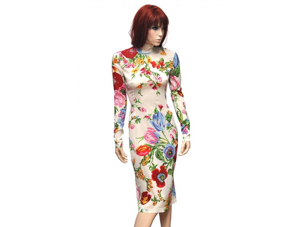 Překrásné hedvábné šaty Dolce Gabbana 36 2