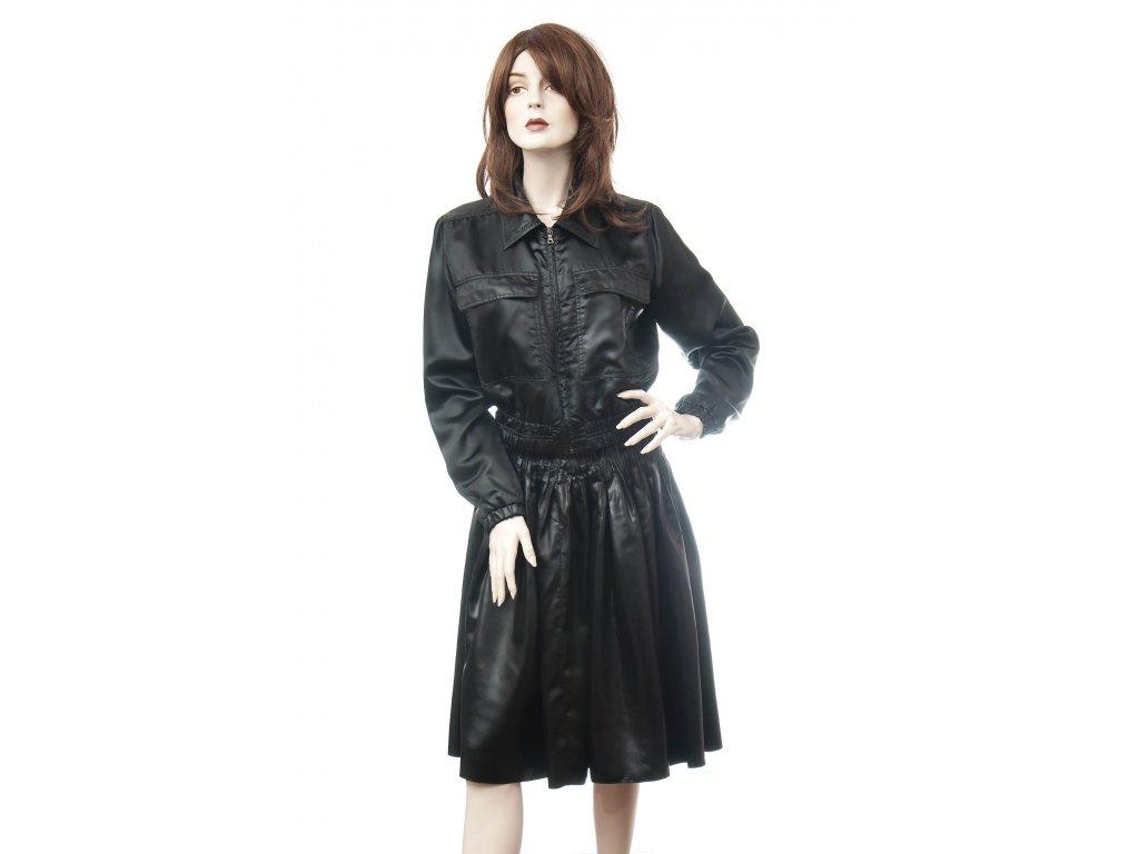 PRADA exkluzivní kostým bunda kožený vzhled 38 - Nana Vogue 1a700a797dd