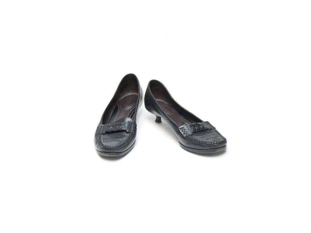 botega venetta elegantni mokasiny na malem podpatku 1