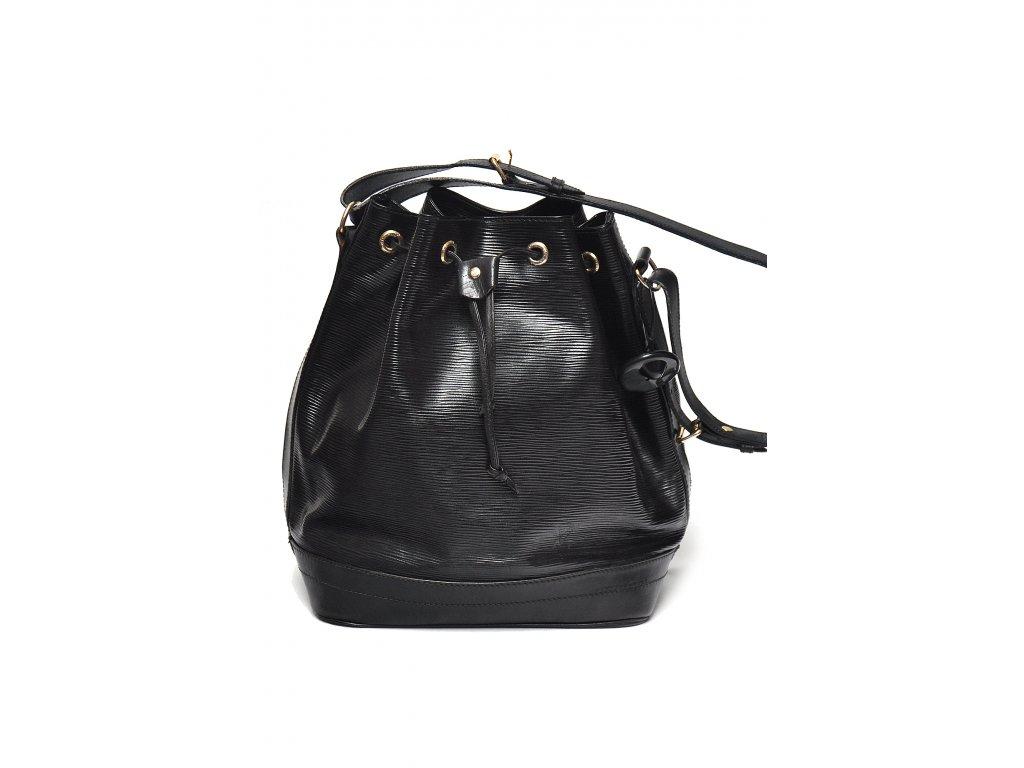 Černá kabelka Louis Vuitton epi kůže 80.léta 1