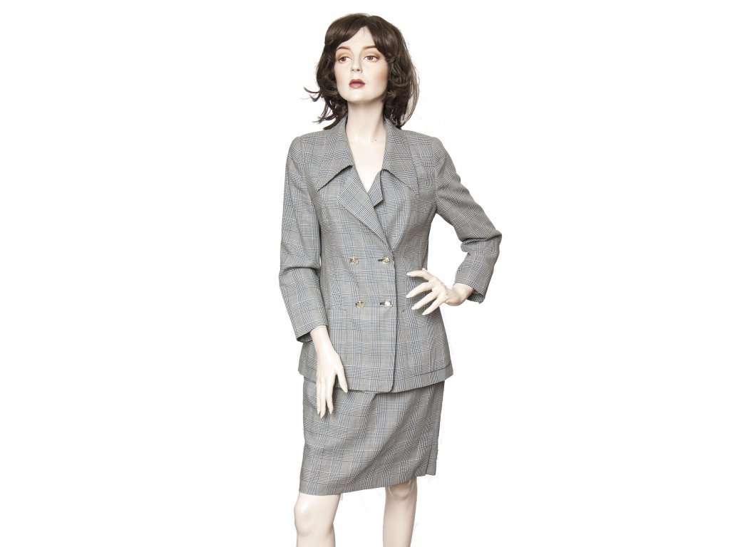 louis feraud vintage vlneny kostym 2